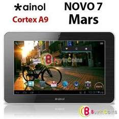 "[China @ buyincoins.com ] 7"" Ainol Novo 7 Mars Android 4.0 Tablet 1GHZ CPU 1GB Ram 8 GB Display 1024x600 für ca. 65,00 Euro"
