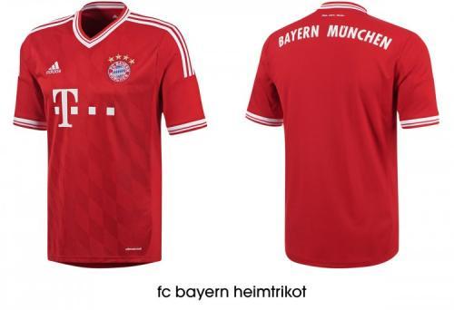 FC Bayern Trikot der Saison 2013/2014 für 56,98 inkl. Versand