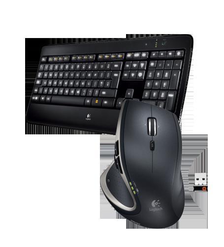 Logitech K800 Tastatur + Performance Mouse MX mit Gutschein für 101,39€ + evtl. 4% Qipu