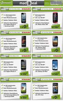 [Schubladenvertrag] iPhone 5 (477,60€), S4 (427,60€), HTC One (447,60€), iPhone 4 (222€) UND ANDERE