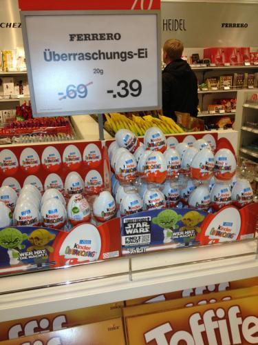 [Lokal] Hildesheim Kaufhof -  Ü-Eier für 0,39€