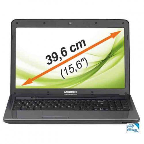 "MEDION E6234 Notebook LED 15,6""/39,6cm 500GB 4GB Intel Pentium Windows 8 USB 3.0 für 299,99 Euro inkl. Versandt"