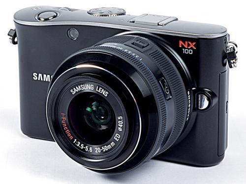 Samsung Systemkamera NX100 für 219 EUR (mit Gutschein) statt Idealo ab 265 EUR!