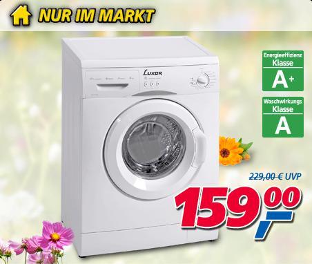 Luxor Waschmaschine WM 1042 A+ @Real nur am 27.05.13