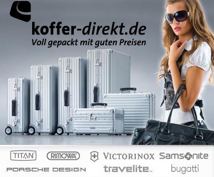 50€ Koffer-direkt.de Gutschein für 24€ - Der perfekte Ryanair Trolley mit über 40% Ersparnis!