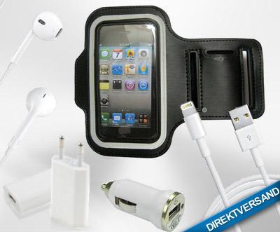 """[DailyDeal] """"5 in 1"""" Zubehör Set für iPhone 4s oder iPhone 5"""