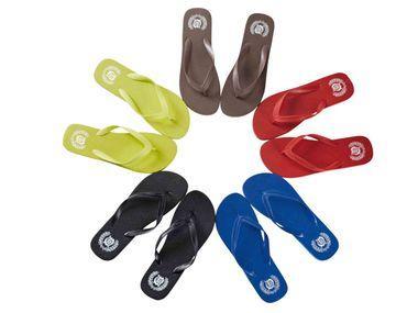 [LIDL bundesweit] crivit Strandpantoletten (Flip Flops) in 10 verschiedenen Farben für nur 0,99 Euro!
