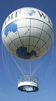 [LOKAL BERLIN] Fesselballon - Aufstieg mit einem der größten Fesselballone der Welt [DKB KUNDEN]