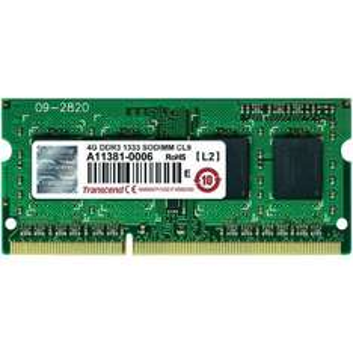 2x4 GB DDR 3 So-Dimm RAM von Transcend für Notebooks @ Conrad für 38,40