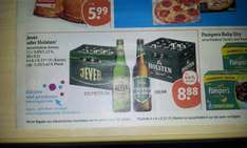 @TEGUT Jever Pilsener statt 15,96€ für 8,88€ die Kiste 44% off