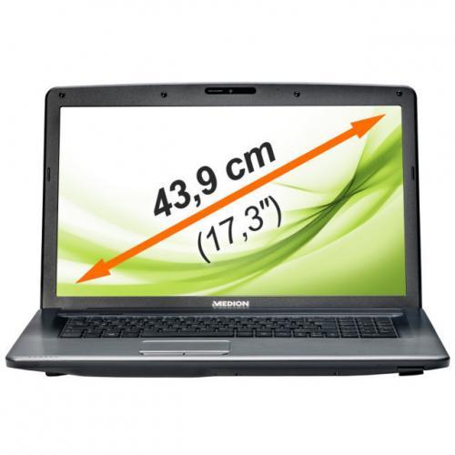 """MEDION AKOYA P7816 MD 99075 Notebook 17,3""""/43,9cm intel i5 8GB 1000GB USB 3.0 bei Ebay für 499,00€ incl.Versand"""