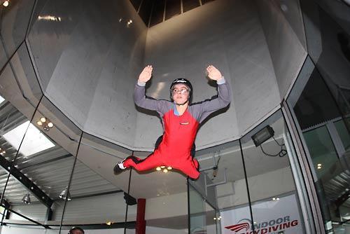 50% Rabatt auf Indoor Skydiving in Bottrop bei Online-Sofortbuchung