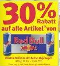 [Offline/Rossmann]: 30% Rabatt auf alle Artikel von RedBull