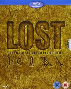 Lost: The Complete Seasons 1-6 [Blu-ray] - OT - Amazon UK  - 47,99€ inkl. Versand