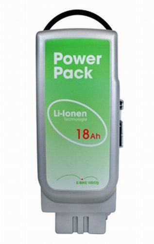 Für E-Bike / Pedelec mit Panasonic-Antrieb: Akku 18Ah / 26V / 468Wh
