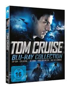 Tom Cruise Collection (5 Discs) [Blu-ray] für 29,33 € inkl. Versand @ Amazon.it