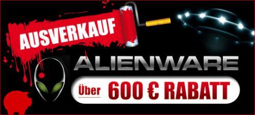 Alienware notebook reduziert teilweise 499€ günstiger !