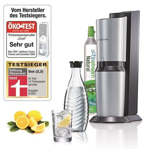 Soda Stream Crystal wieder bei Kaufland für 79 Euro. Abzgl. 20 Euro Cashback= 59 Euro!