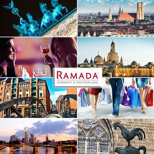 RAMADA lässt es krachen! Gutschein für eins von 42 Hotels mit 2 Übernachtungen für 2 Personen inkl. 2x Frühstücksbuffet für nur 89,- EUR