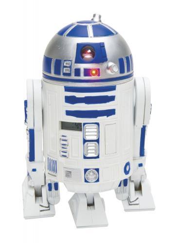 Star Wars - Clone Wars Jugend-3d-Wecker in Plastik mit R2-D2 Sounds