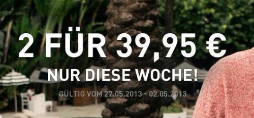 JACK & JONES: 2 für 39,95€