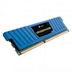 Corsair CML16GX3M2A1600C10B Vengeance LP Blue Arbeitspeicher 16GB (1600MHz, CL10, 2x 8GB) DDR3-RAM Kit