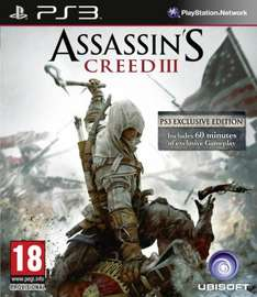 Assassin's Creed 3 PS3 / XBox360 für 17,43 Euro