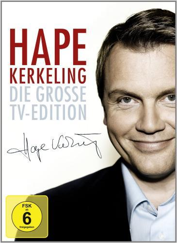 Hape Kerkeling - TV-Edition mit 11 DVDs über 1800 Minuten für 32,97 Euro statt 72,86 Euro