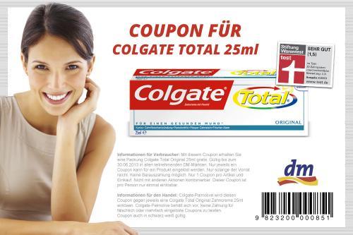 Colgate Total 25ml Kostenlos [DM lokal]