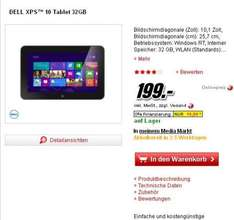 Dell XPS 10 Tablet 199 € Media Markt Online Shop