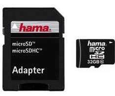HAMA microSDHC 32GB Class 10 + Adapter/Tablet-PC @ MediaMarkt.de