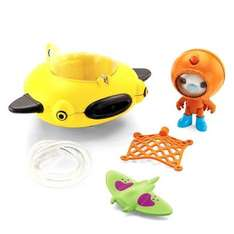 MATTEL Octonauts Gup D Barnaclles and Manta Ray Spielset