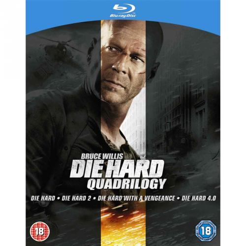 [BluRay] Die Hard Quadrilogy  (4 Discs) für 10,48€ [@TheHut.com]