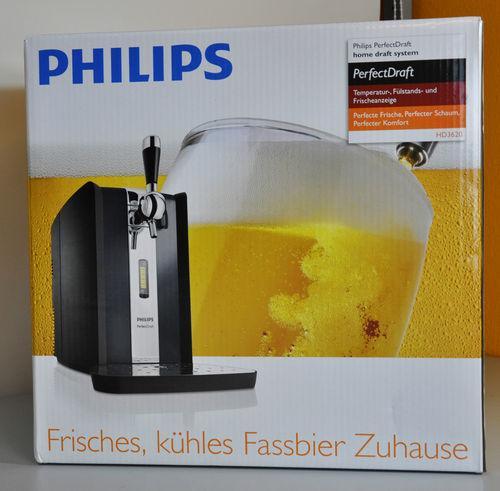 Bierzapfanlage PerfectDraft HD3620 von PHILIPS für nur 133,50 EUR inkl. Versand