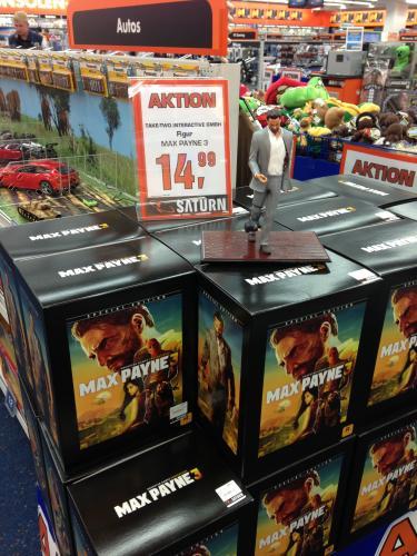 [Lokal] Saturn HH Mö Max Payne 3 Special Edition Figur