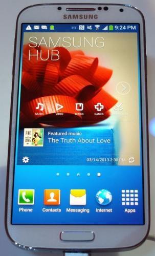 Galaxy S4 bei Saturn in Kombination mit aktueller Gutscheinaktion [bis zu 56€ unter geizhals Preis]