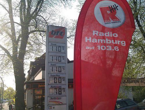 Regional: Tanken für 1,10 Euro in HAMBURG