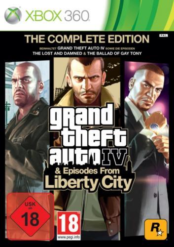 GTA 4 - Grand Theft Auto IV - Complete Edition XBOX @ MediaMarkt.de für EUR 11,00 - versandkostenfrei