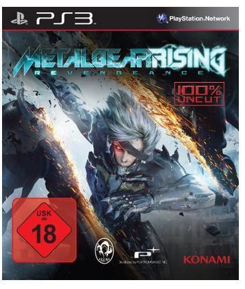 (Müller/offline) Metal Gear Rising: Revengeance (PS3/Xbox360) nur am 31.5. für 20 Euro