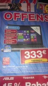 "[ab 03.06.offline STAPLES] Notebook: Packard Bell TE11HC - W8, i3, 500GB, 6GB DDR3, 15,4"", DVD-Brenner"