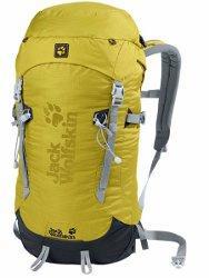 JACK WOLFSKIN Mountaineer 30 yellow green - Alpinrucksack - 31% günstiger