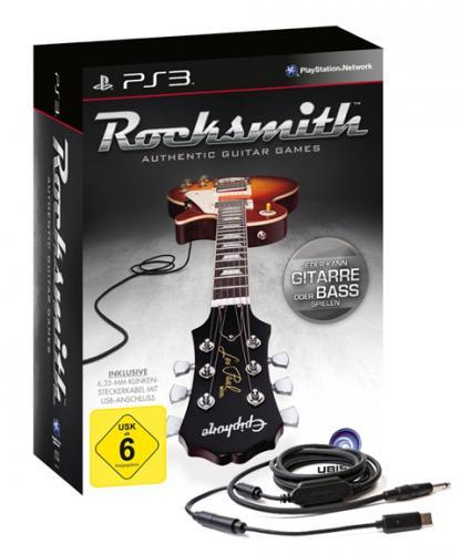 Rocksmith inkl. Real Tone Kabel für Playstation 3 PS3 auch für XBOX 360 @EBAY