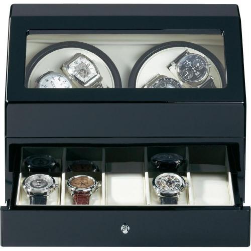Uhrenbeweger mit Schublade (passend für 4 Uhren)  für 92,45 € conrad