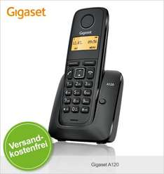 Limango: Gigaset A120 Single/Duo/Trio zu 14,95€/19,95€/24,95€ Neuware