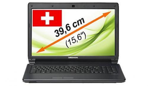 """MEDION® AKOYA® E6227 Notebook mit 15.6"""" mattem Display, i3-2350M, 8 GB RAM, 500 GB HDD, Win7"""