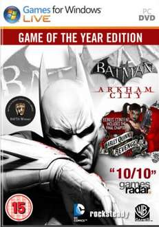 [Steamkey] Batman Arkham City: Game of the Year @ GMG