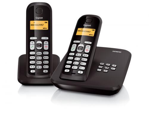 Gigaset AS300A Duo (2 Mobilteile, Anrufbeantworter) für 29,99€ @ Null.de
