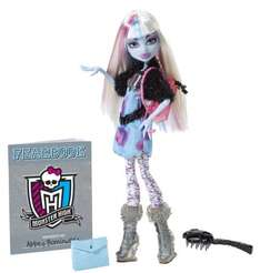 (Amazon) Mattel Y8498 - Monster High Abbey Bominable, Puppe mit Jahrbuch