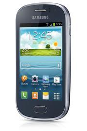 Samsung Galaxy FAME GT-S6810P - Android 4.1, 1 GHz, metallic-blue @ mediamarkt.de