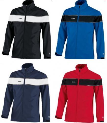 Jako Softshell Jacke in vier Farben und allen Größen – Wind- und Wasserdicht - Für Damen, Herren und Kinder - 28,68€ inkl. Versand